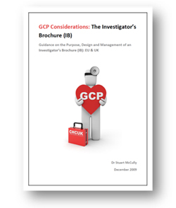 Wonderful GCP Considerations | The Investigatoru0027s Brochure (IB) | NIS, GCP ...