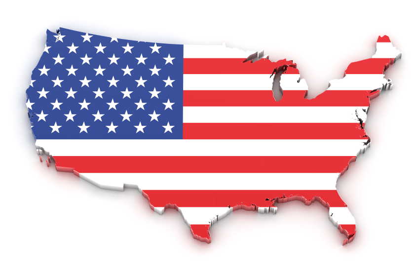 USA-map-Colour