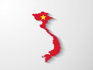 Vietnam-Map-Colour
