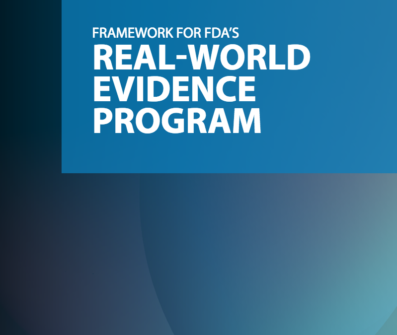 FDA – Regulatory Considerations for Study Designs Using RWD